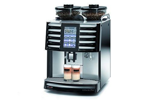 portfolio schaerer fully automated coffee machines