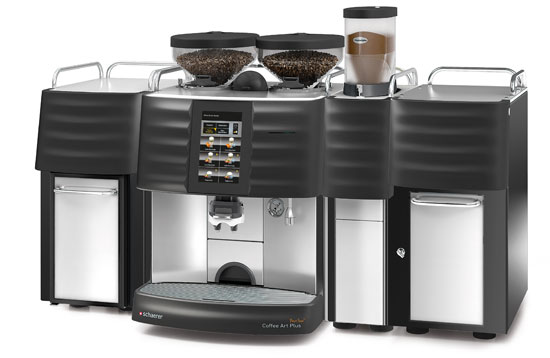 schaerer coffee art plus schaerer fully automated coffee machines. Black Bedroom Furniture Sets. Home Design Ideas