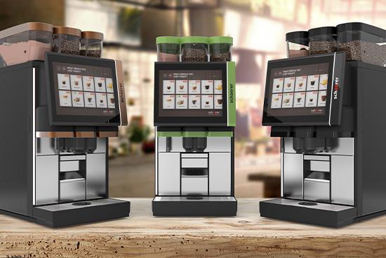 Автоматична кавова машина Schaerer Coffee Soul 10 та 12